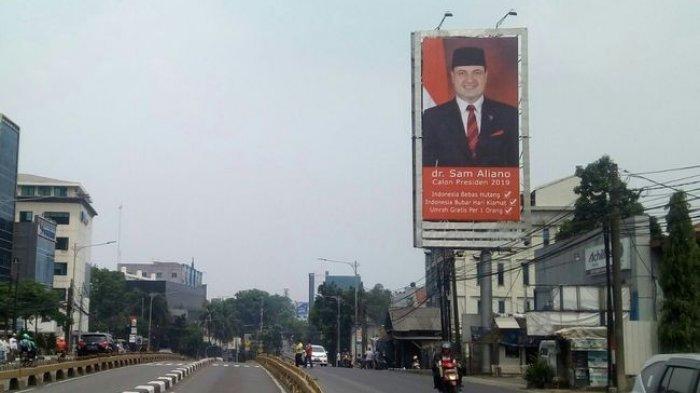 Ingin Jadi Presiden, Sam Aliano Janji Hapus Utang Indonesia, Umrah Gratis Kepada yang Memilihnya