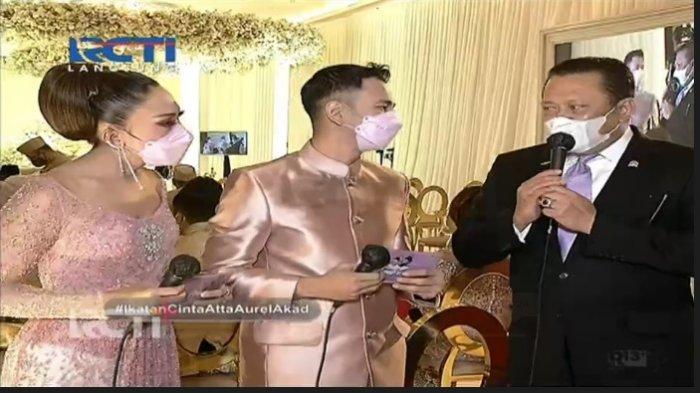 Atta Aurel Nikah, Pesan Bambang Soesatyo Buat Calon Pengantin Bikin Raffi Ahmad & Ayu Dewi Takjub