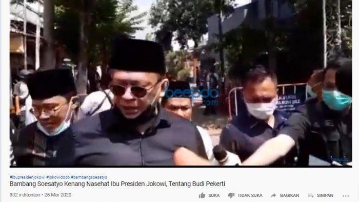 Datangi Rumah Duka, Bamsoet Kenang 2 Sajian yang Pernah Dihidangkan Ibunda Jokowi: Luar Biasa Enak