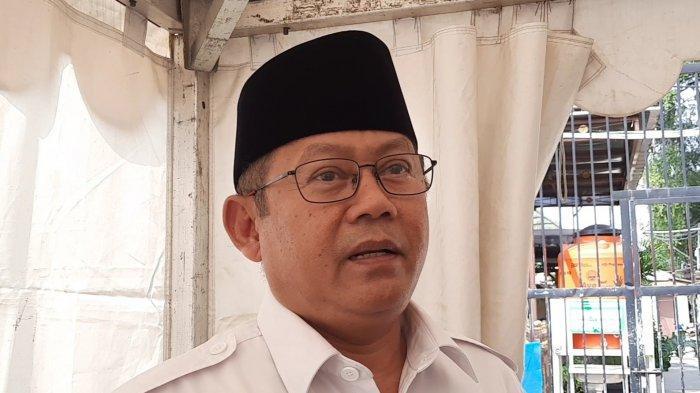 Bambang Sunaryo Kuasa Hukum tersangka AT (21) di Polres Metro Bekasi Kota, Jumat (21/5/2021).