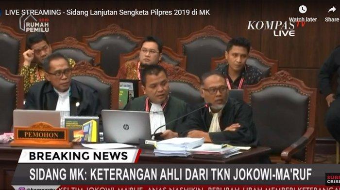 BW Protes Saat Saksi Ahli 01 Belum Sempat Bicara, Hakim MK Ambil Sikap: Kami Merasa Tak Membedakan