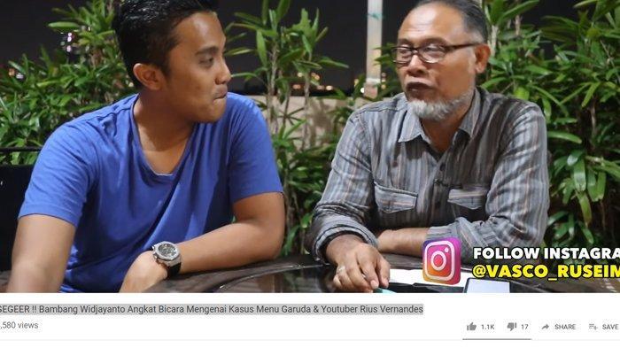 Bahas Kasus Rius Vernandes VS Garuda, Bambang Widjajonto: ITE Lebih Jahat dari UU Subversif di Orba