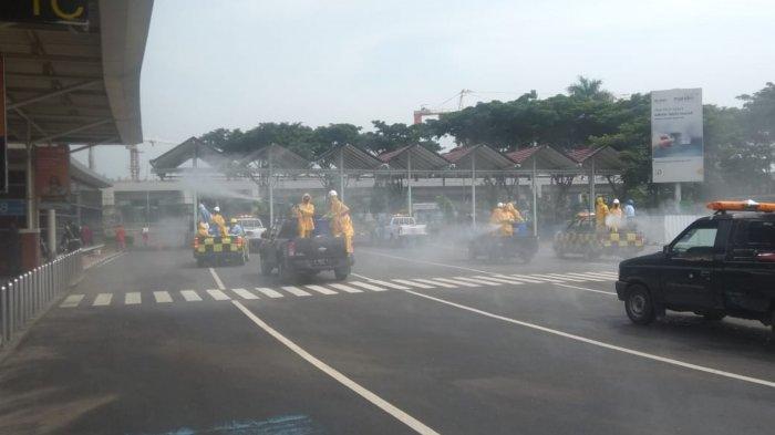 8 Bilik Disinfektan Berdiri di Bandara Soekarno-Hatta untuk Penumpang dan Pekerja