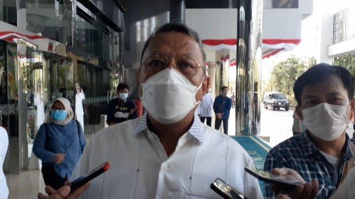 Wali Kota Tangerang Selatan (Tangsel), Benyamin Davnie,di Kantor Pemkot Tangsel, Jalan Maruga, Ciputat, Jumat (6/8/2021).