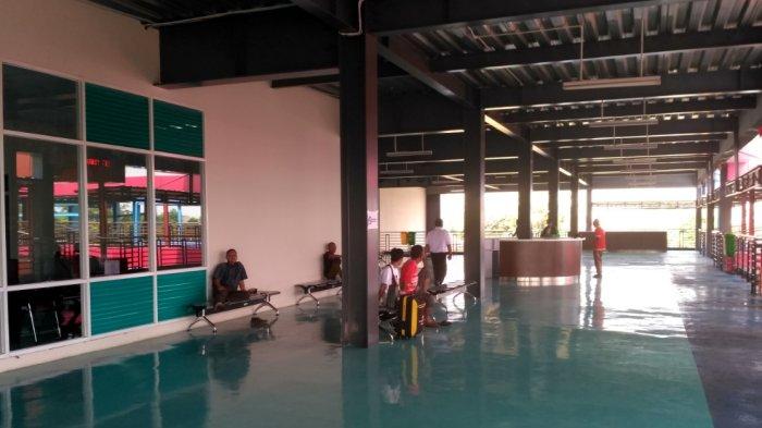 Koordinator Terminal Pondok Cabe Sebu Pembangunan Musala Belum Rampung Karena Pekerjanya Libur