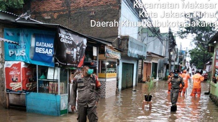 Anies Sempat Pamer Bebas Banjir, Diguyur Hujan Semalam Kini Cipinang Melayu Terendam Air 1 Meter