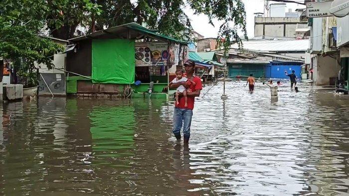 Ruko di Taman Permata Indah 2 Kemasukan Air, Warga: Setiap Tahun Kebanjiran