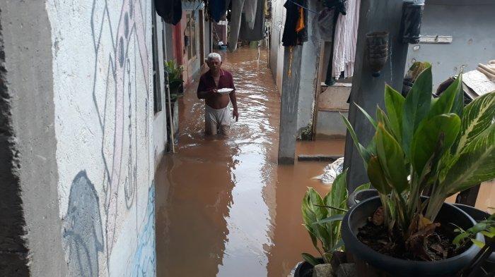 Suku Dinas Sumber Daya Air Beberkan 6 Lokasi Rawan Banjir di Jakarta Pusat