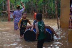 Hujan Deras di Sawangan Depok, 15 Rumah dan 1 Taman Kanak-Kanak Terendam Banjir