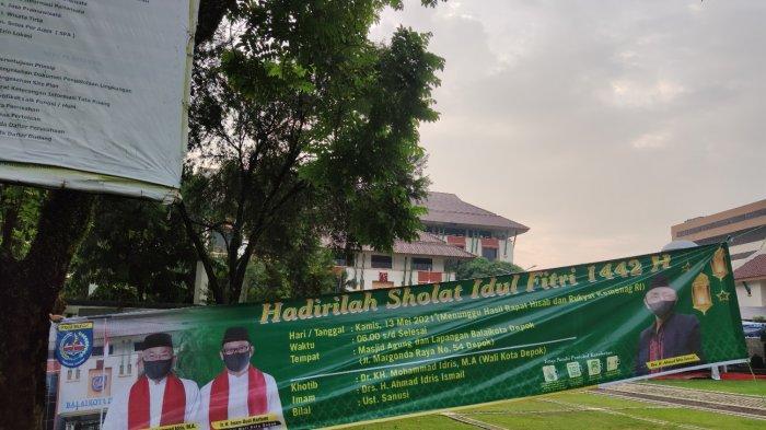 Tenda Sudah Terpasang, Masjid Agung Balai Kota Depok Batal Gelar Solat Idul Fitri 1442 H