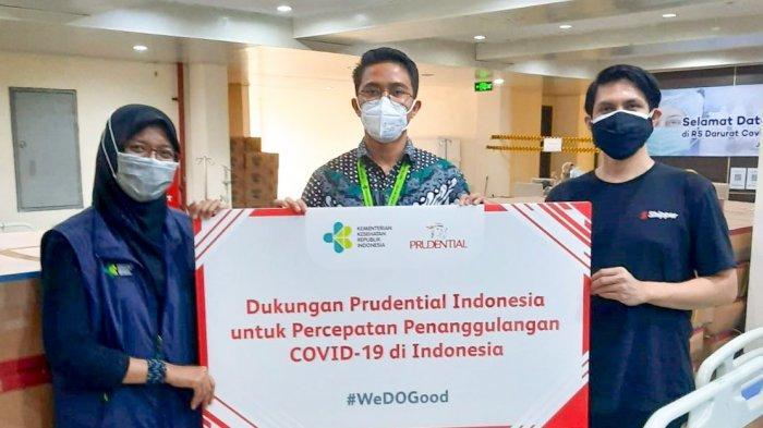 Donasi Ribuan Peralatan Medis ke Rumah Sakit, Dukung Pemerintah Atasi Pandemi Covid-19