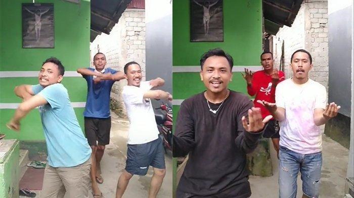 Mencuri Perhatian, Trio Bapak-bapak Luwes Main TikTok Jadi Bahan Perbincangan Warganet di Indonesia
