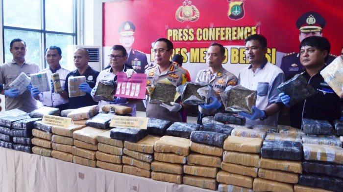 Tersangka Pemilik 200 Kilogram Ganja Dapat Suplai dari Seorang Napi di Gunung Sindur Bogor