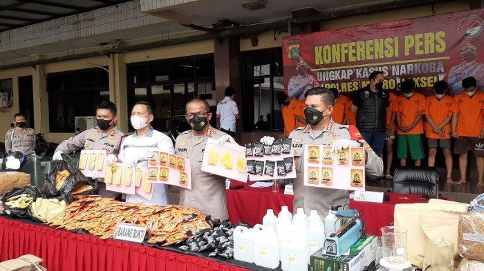 5 Orang Sindikat 185 Kg Tembakau Sintetis di Bogor Diburu, Polisi: Sampai Lubang Tikus Akan Dikejar