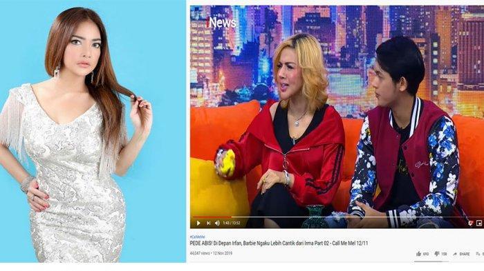 Dituding Settingan dengan Irma Darmawangsa & Irfan, Barbie Kumalasari Lantang: Ngetop-an Juga Gua!