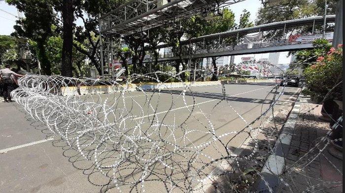 BEM SI Dikabarkan Akan Unjuk Rasa, Jalan Medan Merdeka Barat Ditutup