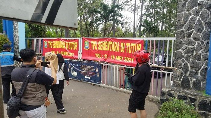 Hari Kedua Lebaran, Banyak Warga di Kota Tangerang Ditolak untuk Ziarah