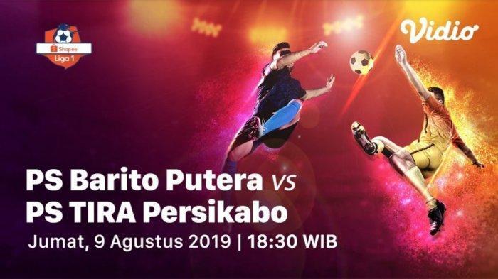 Tayang Petang Ini, Berikut Link Live Streaming Barito Putera vs PS Tira Persikabo di Vidio.com