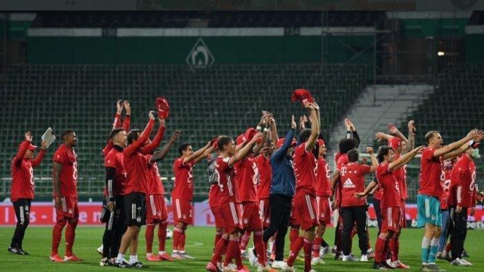 Hasil Liga Champions - Bayern Muenchen Tampil Mengesankan di Kandang Lazio