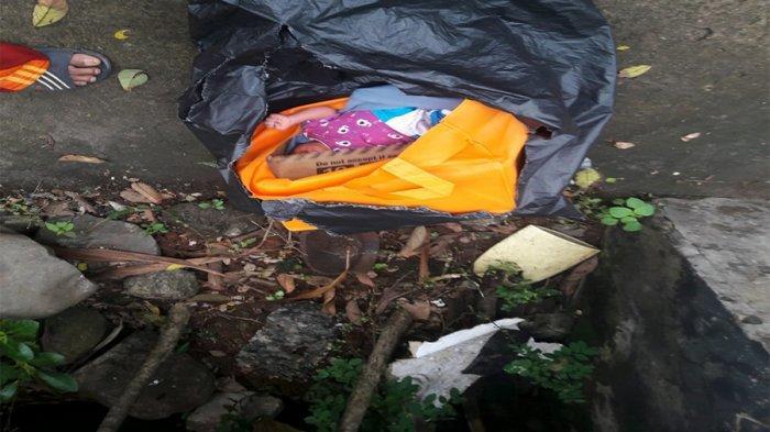 Bayi Berusia 2 Minggu yang Dibuang Orangtuanya Dekat Bak Sampah di Cilandak Dibawa ke Puskesmas