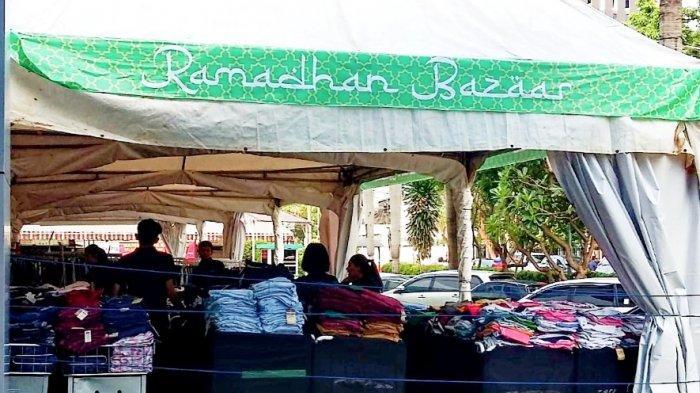 Selama Ramadan, Ada Bazar Aneka Busana di Kawasan Jalan MH Thamrin