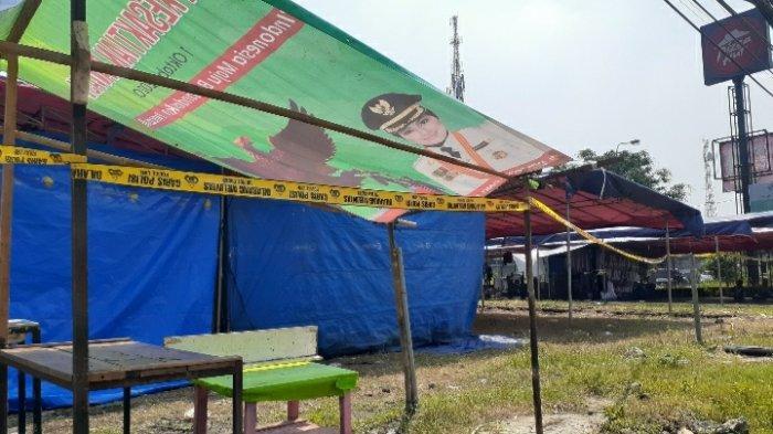 Jadi Pusat Kerumunan di Tengah Pandemi Covid-19, Bazar Tomang Pamulang Dibubarkan Satpol PP