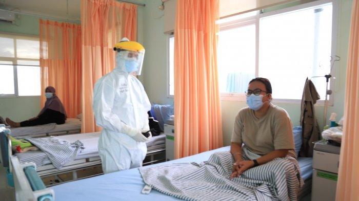 Bed Occupancy Rate (BOR) pasien Covid-19 di Kota Tangerang berkurang selama Pemberlakuan Pembatasan Kegiatan Masyarakat (PPKM) Darurat, Rabu (21/7/2021).