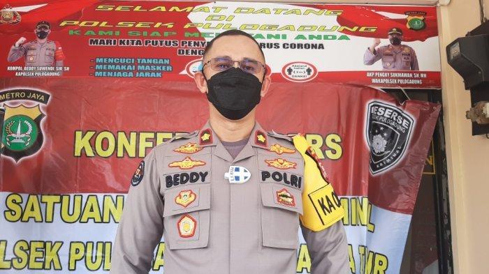 Kapolsek Pulogadung,  Komisaris Polisi Beddy Suwendy di Mapolsek Pulogadung, Jakarta Timur, Senin (28/12/2020).