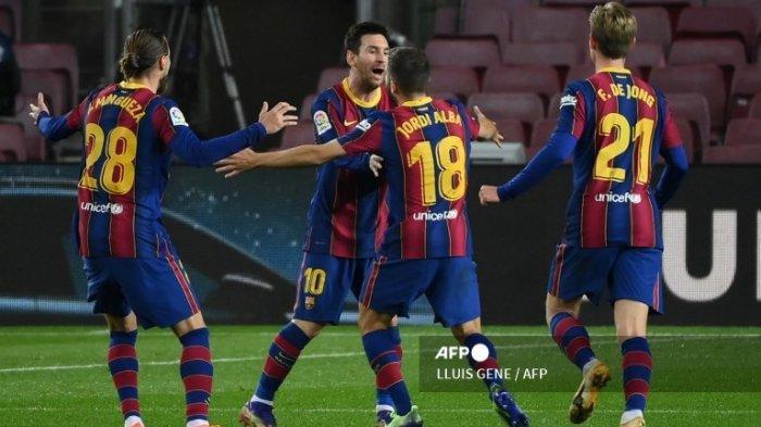 Jadwal Liga Spanyol Duel Barcelona Vs Valencia Sabtu 19 Desember 2020, Messi Cs Butuh 3 Poin
