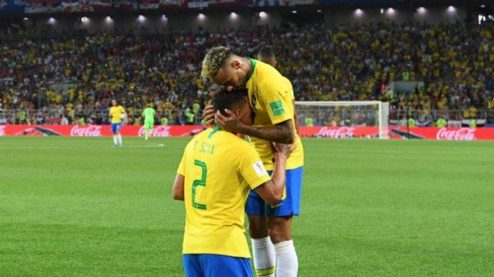 Brasil Punya Catatan Lebih Bagus: Belum Pernah Kebobolan 4 Kali Lawan Meksiko di Piala Dunia