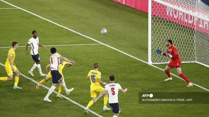 Hajar Ukrania 4-0, Gawang Inggris Tetap Perawan Sampai Semifinal Euro 2020