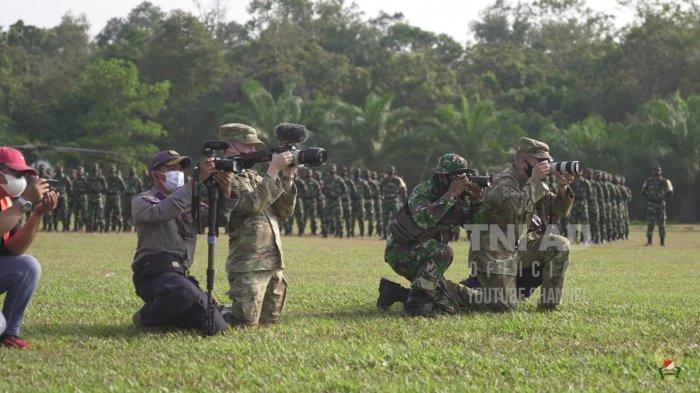 Humas Tentara AS Keteter Lihat Kerja Militan Dispenad: Saya Baru Mikir, Kalian Sudah Ambil Momennya