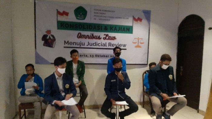 BEM PTAI Se-Indonesia Ajak Mahasiswa Ajukan Judicial Review UU Cipta Kerja