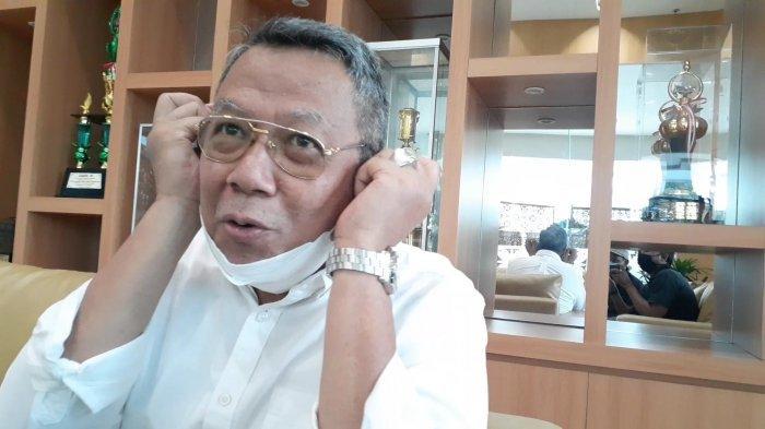 Wakil Wali Kota Tangerang Selatan, Benyamin Davnie, di ruang tamu VIP Kantor Pemkot Tangsel, Jalan Maruga, Ciputat, Tangsel, Jumat (16/4/2021).