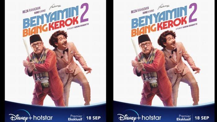 Benyamin Biang Kerok 2 Resmi Tayang Perdana di Disney+ Hotstar, Buruan Nonton!