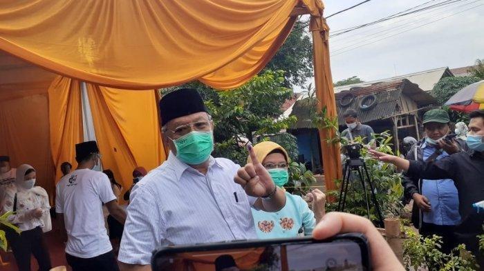 Hasil Pilkada Tangsel Benyamin-Pilar Unggul Hitung Cepat Charta Politika dari Sampel Suara 94,33%