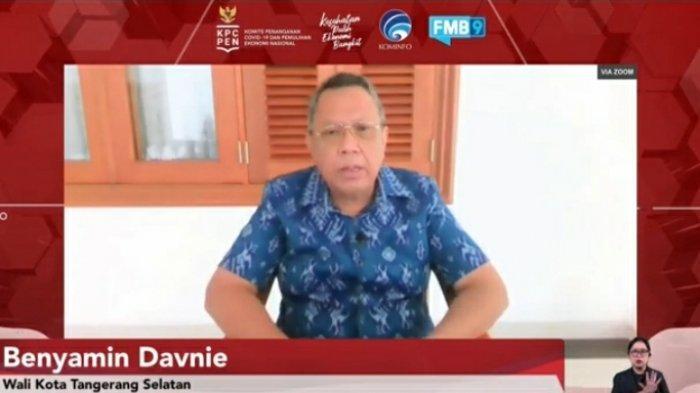 Diskusi daring yang diadakan Komite Penanggulangan Covid-19 dan Pemulihan Ekonomi Nasional (KPCPEN), Kamis (24/6/2021).