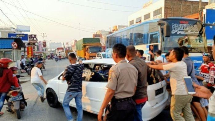 Baku Tembak Polisi Vs Begal di Lampung: Pelaku Tak Menyerah Bawa Kabur Mobil Petugas Meski Terluka