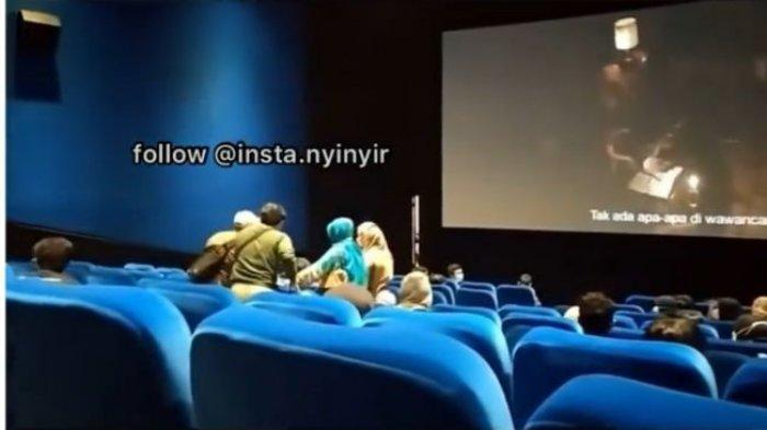 Video Wanita Kesurupan Nonton The Conjuring 3 Viral, Penonton Bioskop yang Membantu Kena Imbasnya