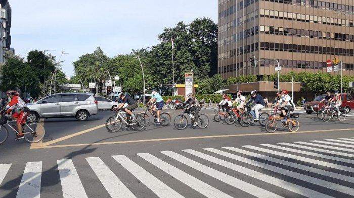 Jumlah Pesepeda Naik 4 Persen Selama Sepekan Penerapan PPKM di Jakarta