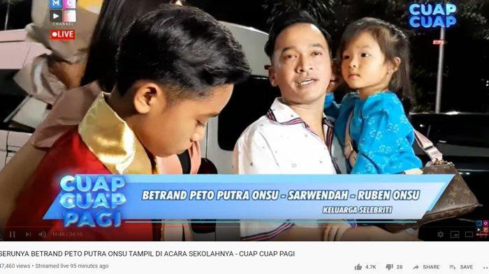 Betrand Peto Nangis Memintanya Hadir di Acara Sekolah, Ruben Onsu Korbankan Ini: Demi Putra Tercinta
