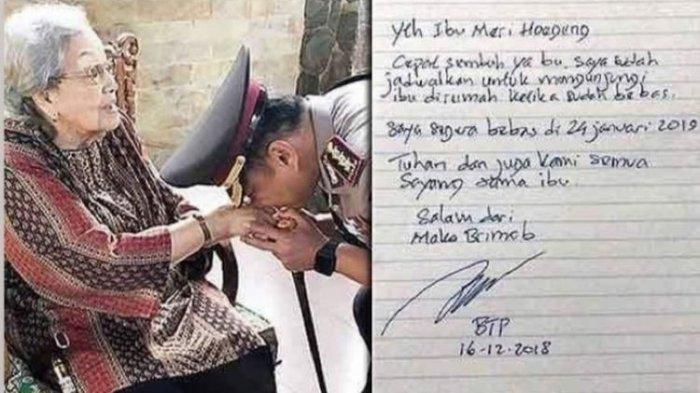 Tulis Surat dari Rutan Mako Brimob, Ahok Ingin Temui Istri Jenderal Hoegeng Usai Bebas