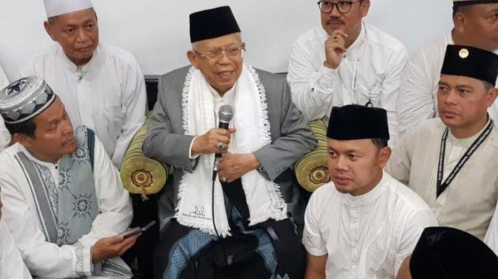 Maruf Amin Bereaksi Ketika Soal Abu Bakar Baasyir Disebut Politisasi Agama, Penonton Tepuk Tangan
