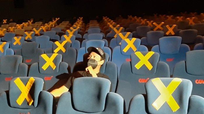 Pemerintah Perbolehkan Pengunjung Kategori Kuning Covid-19 Masuk Bioskop di Jawa-Bali
