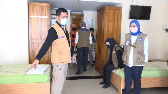 BNPB dan BPBD Tinjau Asrama Haji Pondok Gede: Siap Jadi Tempat Isolasi Pasien OTG