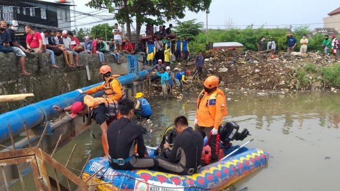 Terekam Cctv Sedang Asyik Bermain Bocah 9 Tahun Tenggelam Di Kali Ledug Tangerang Tribun Jakarta
