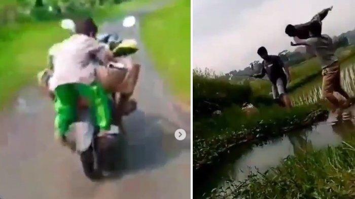 Lempar Bocah ke Empang hingga Olesi Kemaluan dengan Balsem, Pelaku Nangis Gemetaran: Cuma Bercanda