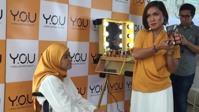 Y.O.U Ajak Penyandang Disabilitas Tampil Lebih Percaya Diri Lewat Make Up