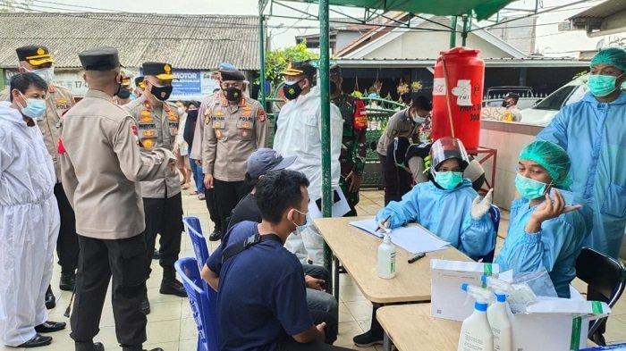 Muncul Lagi Klaster Pabrik di Tangerang, 33 Orang Positif Covid-19 Dalam Satu Lingkungan RW