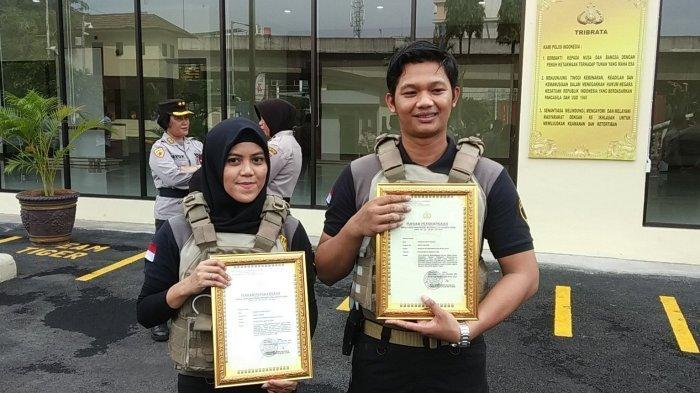 Tangkap Penjahat saat Sedang Pacaran, Sepasang Kekasih Anggota Tim Tiger Dapat Penghargaan